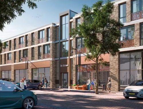 Nieuw Project! 34 appartementen en winkels in stadshart Emmeloord